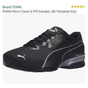 Puma   Tazon 6 FM Sneaker White Silver